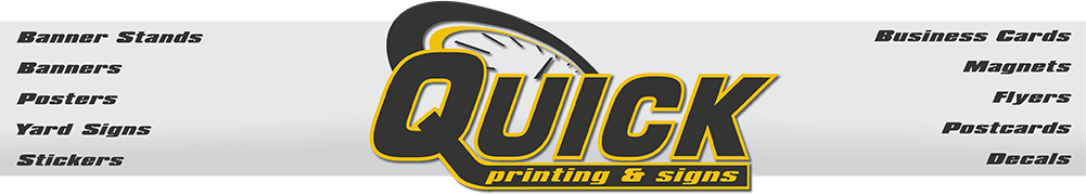 Quick Printing & Signs Logo